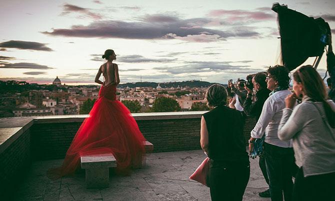 Bianca Balti e lo splendore di Roma