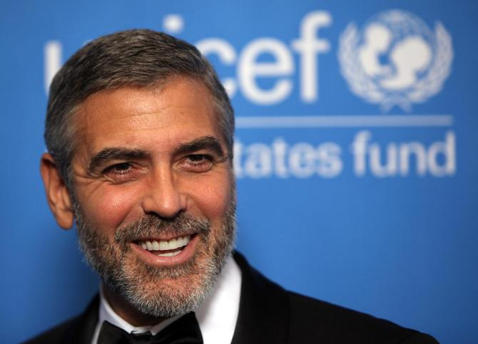 George Clooney all'Unicef