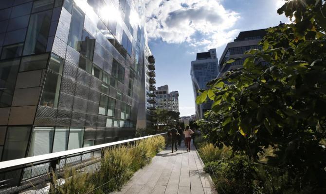 High Line terminata compete con Central Park