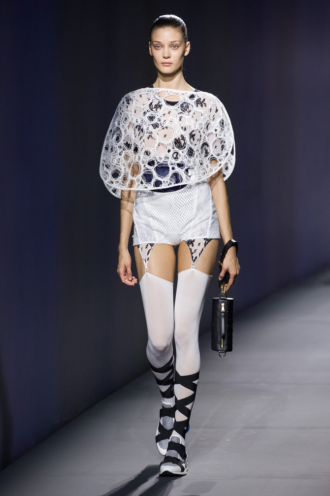 Top e shorts Vionnet