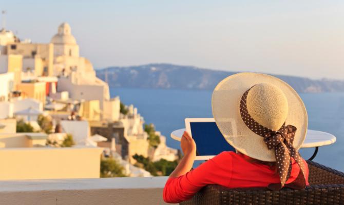 app, tablet, viaggi, mare, estate