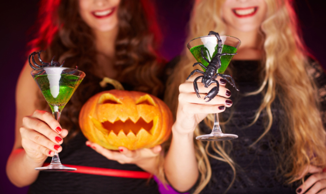 halloween, cocktail, drink, part