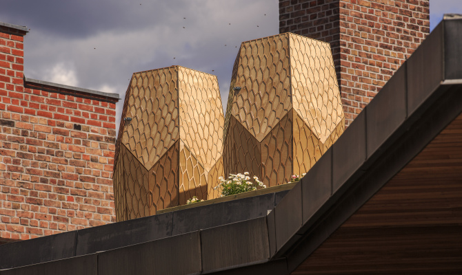 Vulkan Beehive: il design al servizio delle api