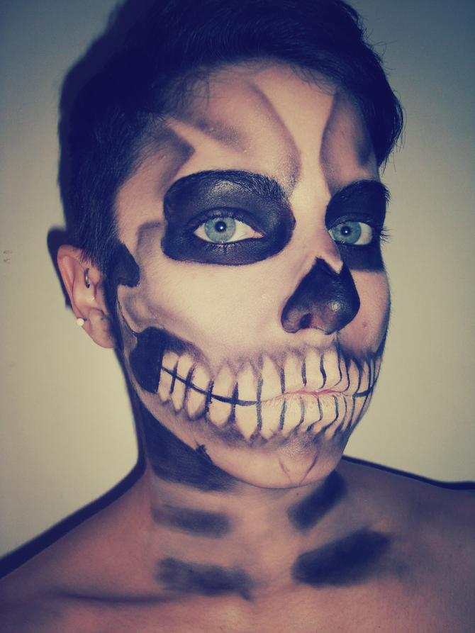 Trucco da scheletro