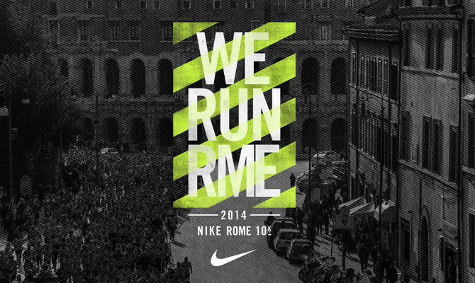 Nike scalda i muscoli in vista della 10Km di Roma