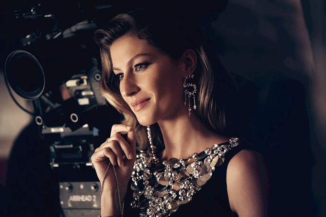 Backstage Gisele per Chanel n°5