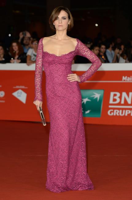 Camilla Filippi, una rossa sul red carpet