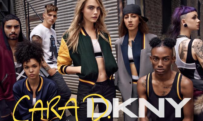 #Cara4DKNY by Cara Delevigne