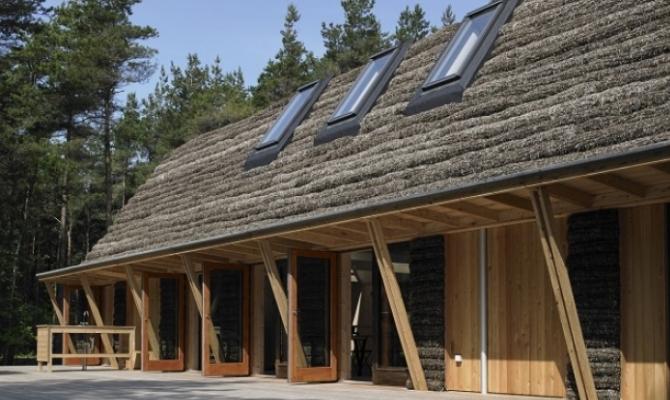 """Casa """"calda e sostenibile"""" grazie alle alghe"""