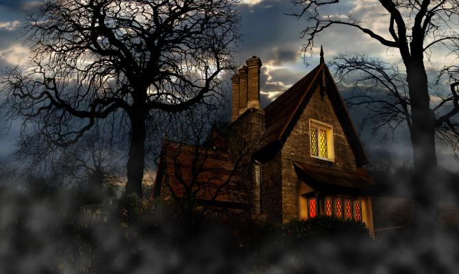 Casa come un film Horror