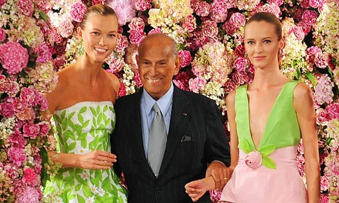 La moda perde Oscar De La Renta, creatore di fiabe