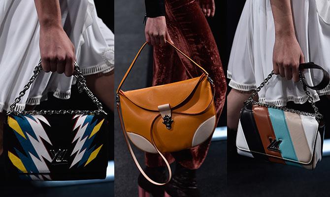 Sfilate Parigi: le borse Louis Vuitton