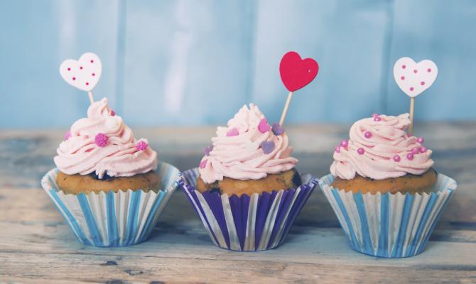 Dolci americani:cupcakes