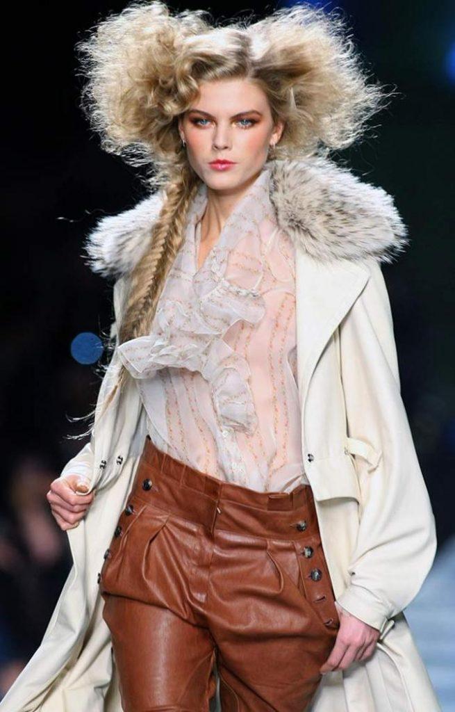 Cappotto, camicia e pantaloni Dior