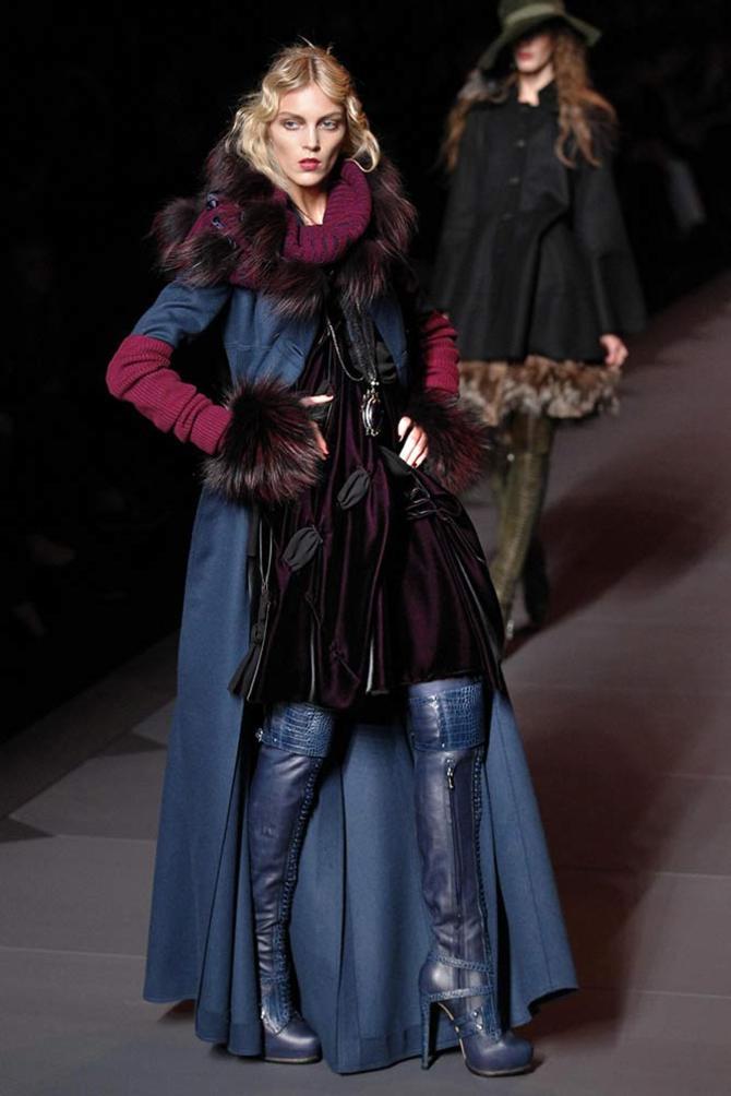 Cappotto e abito Dior