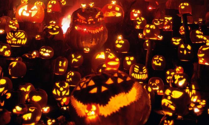 La notte romana di Halloween