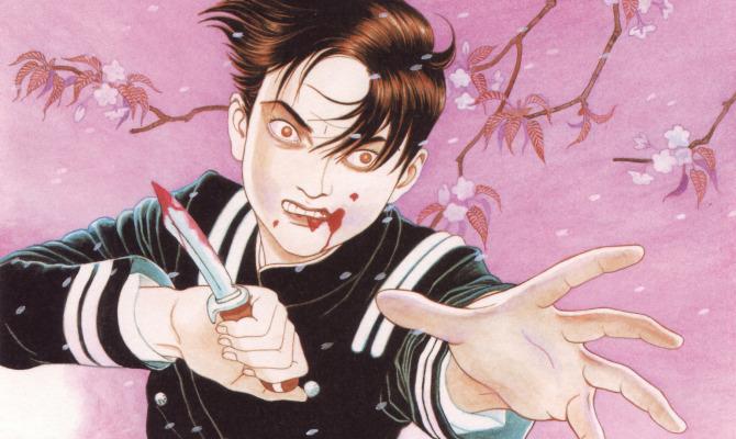 Il vampiro che ride, graphic novel a tinte horror