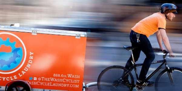 La lavanderia a portata di bici