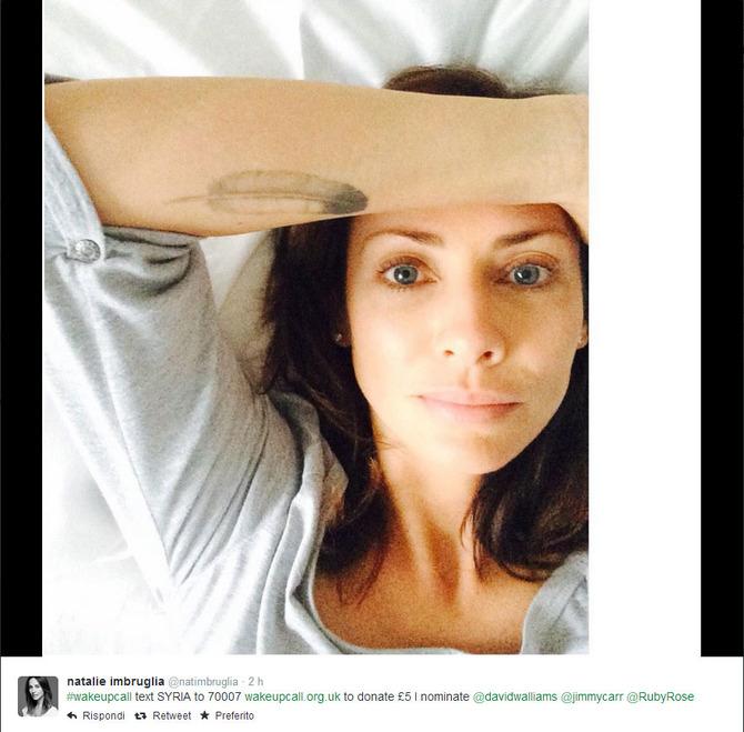 Selfie Natalie Imbruglia
