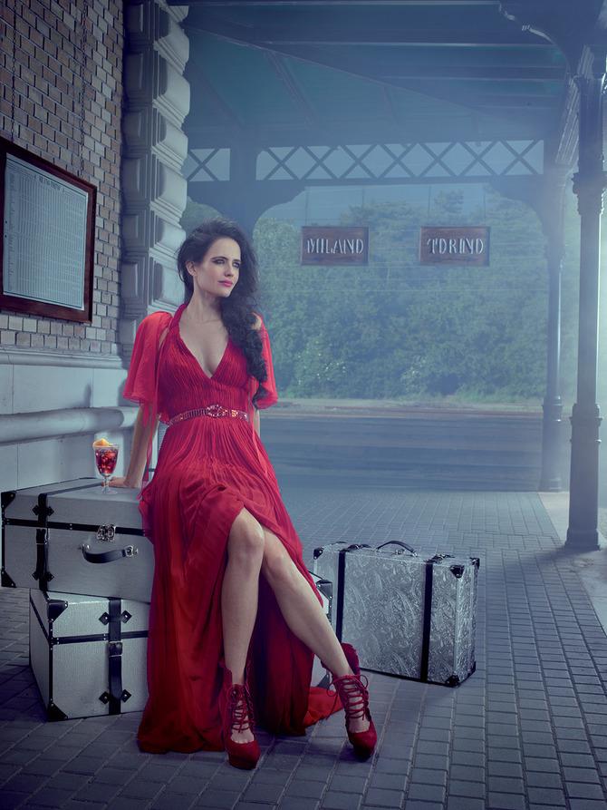 Eva Green per Campari