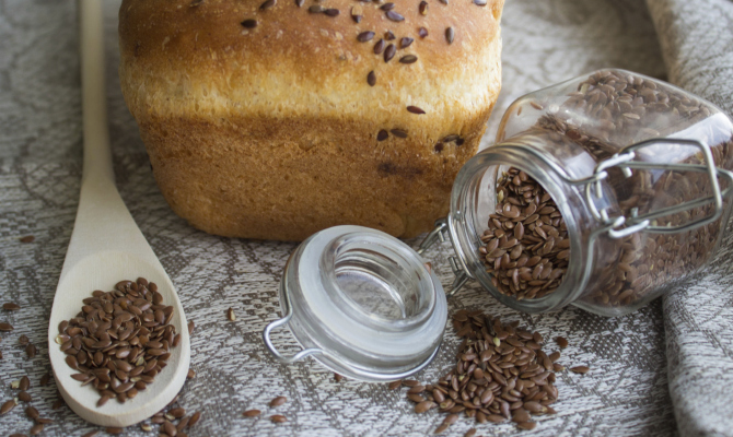 Dolci vegani con i semi di lino