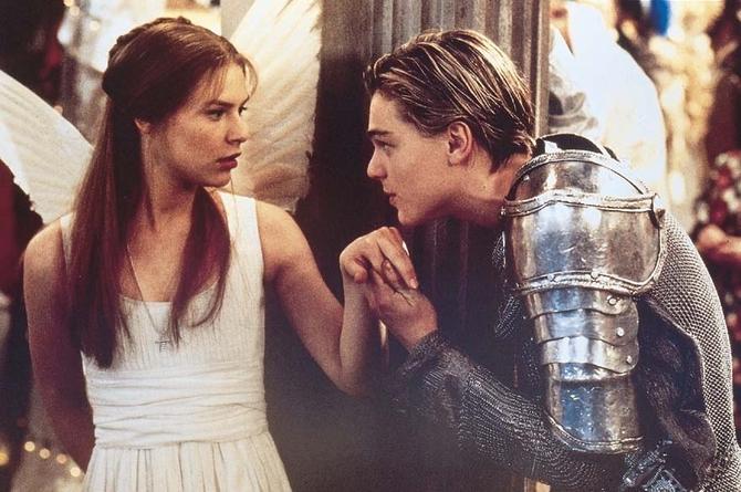 Innamorato in  Romeo + Giulietta  (1996)