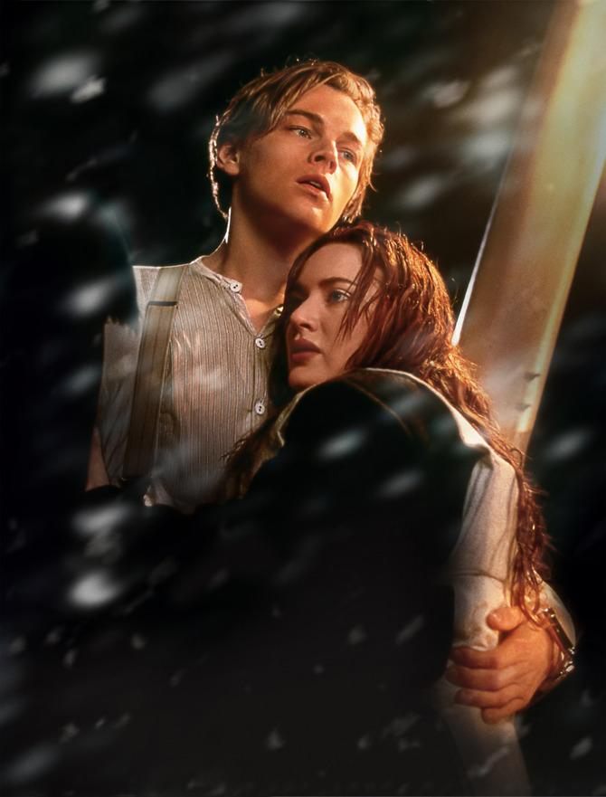 Leo e Kate sono Jack e Rose