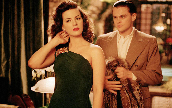 Con Kate Beckinsale in  The Aviator  (2004)