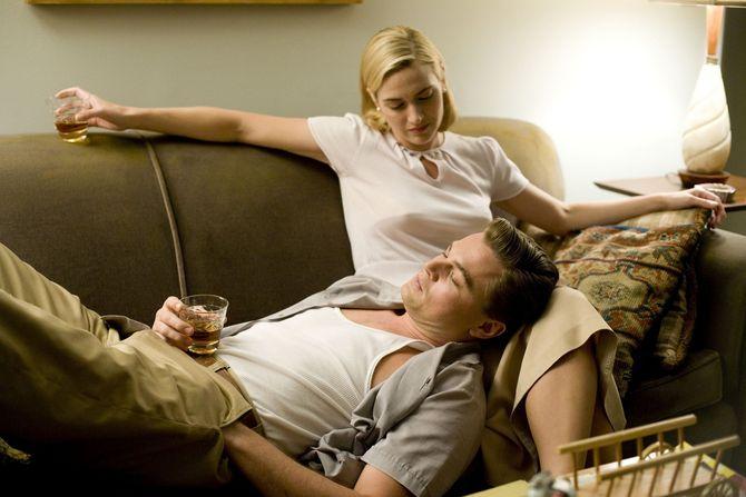 Marito e moglie con Kate Winslet