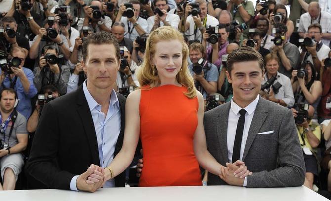 Al fianco di Nicole Kidman a Cannes