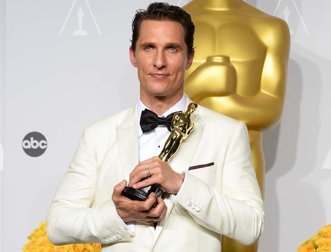 Matthew McConaughey, look da Oscar