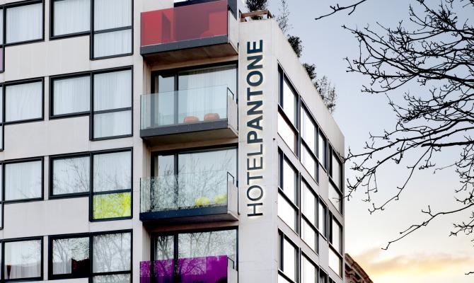 L'Hotel Pantone, un viaggio nel colore
