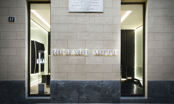 Richard Mille Store Watches Milano