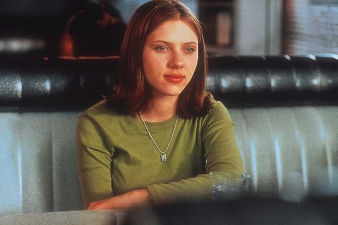 Scarlett Johansson a 17 anni