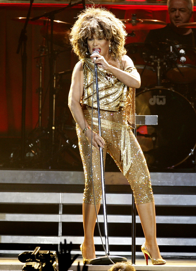 Tina Turner on stage
