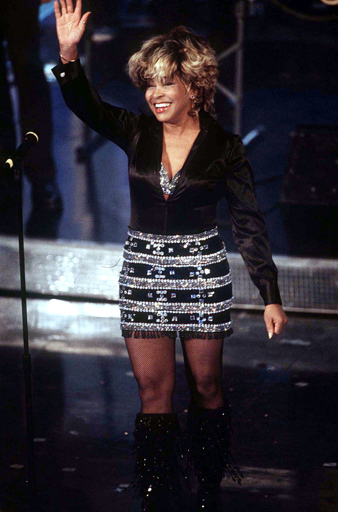 Tina Turner a Sanremo