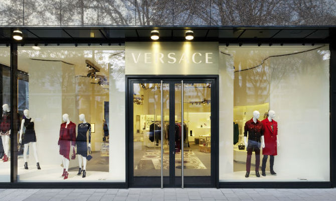 Versace Boutique Flagship Store Germania Dusseldorf