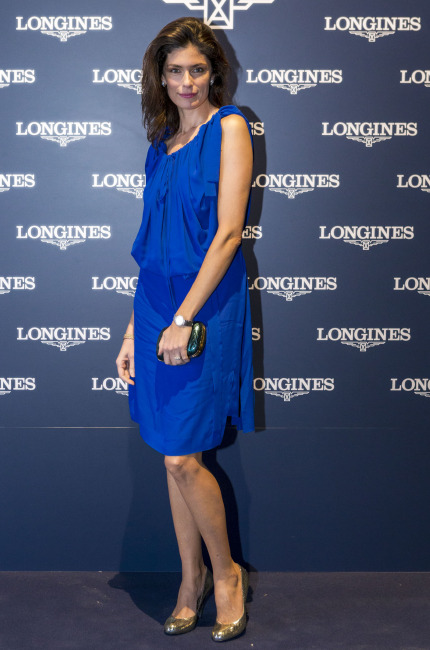 Anna Valle party Longines