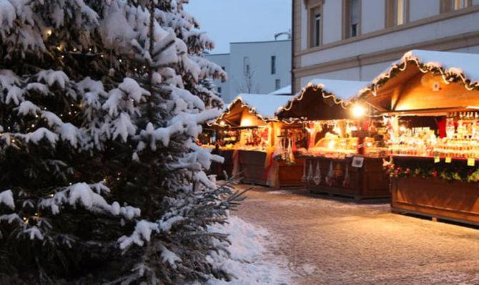 Brunico, sciare tra le luci di Natale