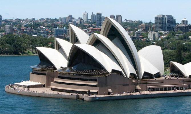 A Sydney il Natale è sull'acqua