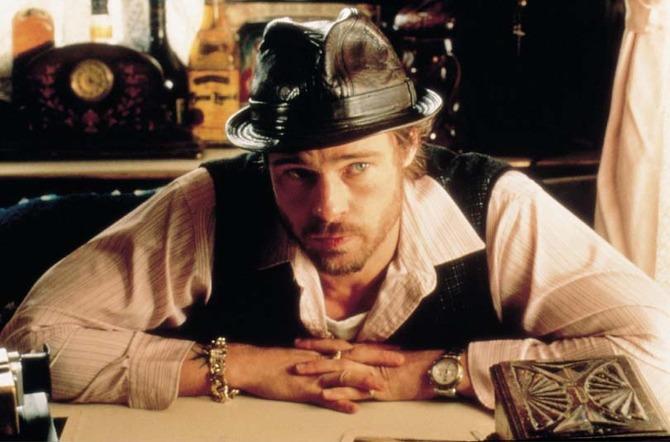 Brad Pitt in versione zingaro -  Snatch