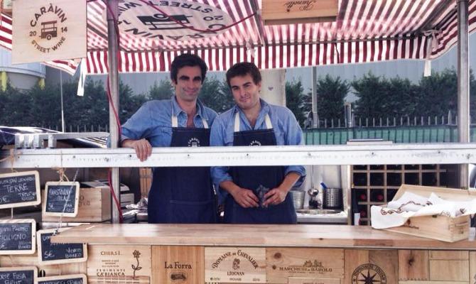 I fondatori di Caràvin Street Wine