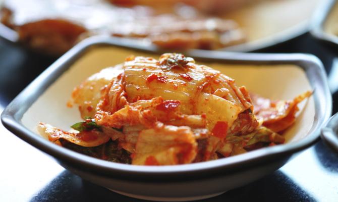 Piatto Kimchi