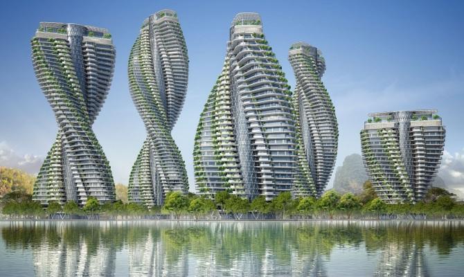 La struttura del DNA ispira l'architettura sostenibile