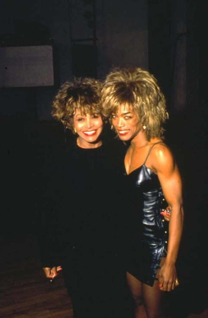 Tina Turner e il suo alterego cinematografico