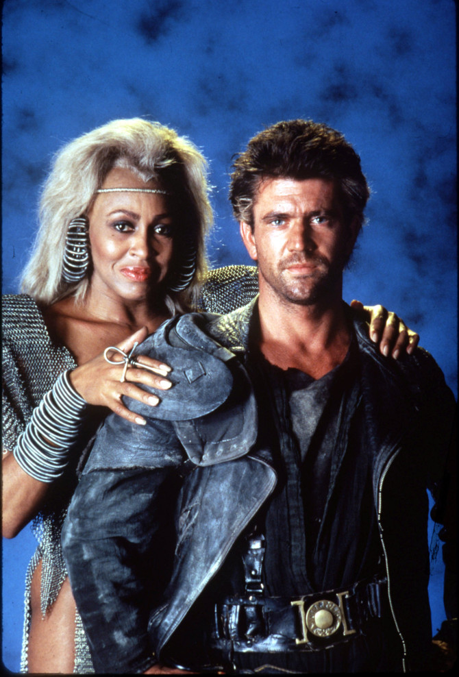Tina Turner al cinema con Mel Gibson
