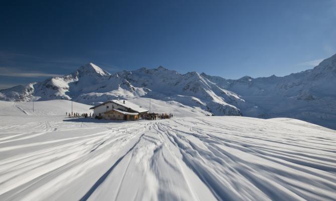 stubai, neve, montagna, inverno