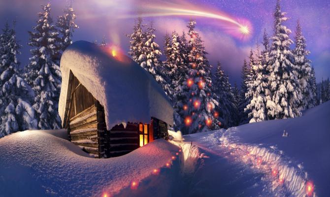 Immagini Natale Montagna.Dove Fuggire Dal Natale Cittadino Www Stile It