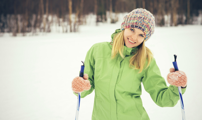 Sci di Fondo, montagna, donna, sport
