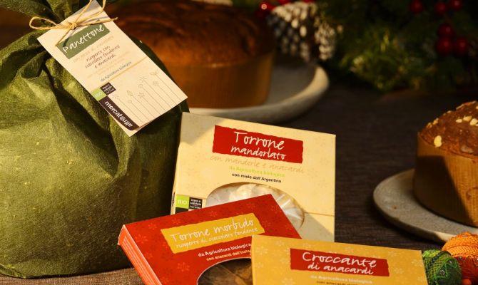 Prodotti alimentari di Natale Altromercato